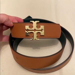 Tory Burch reversible belt 1 1/2 wide